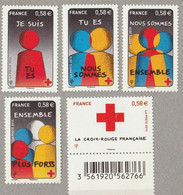 FRANCE 2013 F 4819 TIMBRES ISSU Du BLOC  CROIX ROUGE  Timbre NEUF - Ungebraucht