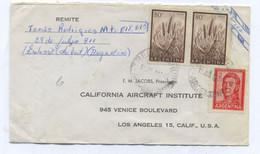 Argentina AIRMAIL COVER TO USA 1961 - Posta Aerea