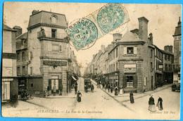 50 - Manche - Avranches - Le Rue De La Constitution (N2579) - Avranches