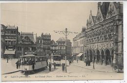02, Aisne, SAINT QUENTIN, La Grande Place, Scan Recto-Verso - Saint Quentin