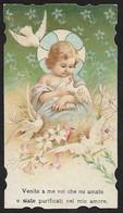 Santino/holy Card: NATIVITA' - E - PR - Cromolitografia Liberty - Religione & Esoterismo