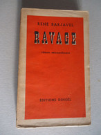 Editions Denoël - Roman Extraordinaire - René Barjavel -  Ravage - 1943 - - Toverachtigroman