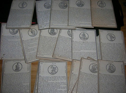 Lot De 33 Carte Mythologie Grecque Dieux Et Déesse Avec Une Gravure Du Dieu Et Une Description Sur Carton - History