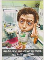 Illustrateur Lazoo Ed Cartapub  - Publicité Papier Cigarette Rizla  -  CPM  10,5x15  TBE Neuve - Autres Illustrateurs