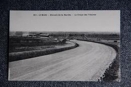 LE MANS - Circuit De La SARTHE, Le Virage Des Tribunes. - Le Mans
