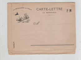 Carte Lettre La Bienvenue La Messagère Du Poilu FM - 1914-18
