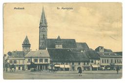 RO 44 - 16326 MEDIAS, Sibiu, Market, Romania - Old Postcard - Unused - Rumania