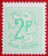 Heraldieke Leeuw 2 Fr N° 1443 (Mi 1501) 1968 POSTFRIS / MNH ** BELGIE / BELGIEN / BELGIUM - Unused Stamps