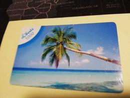 NOUVELLE CALEDONIA  PREPAID CARD  LIBERTE  1000   PALMTREE   OPT    ** 3865 ** - Neukaledonien