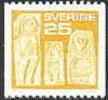ZWEDEN 1975 25õre Geel PF-MNH - Nuovi