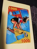 NOUVELLE CALEDONIA  PREPAID CARD  1000 KITE SURF   OPT    ** 3867 ** - Neukaledonien