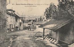CPA-38-SAINT MARTIN D'HERES-Le Lavoir Et Le Village Vus Du Café Allerm - Sonstige Gemeinden