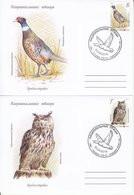 MOLDOVA TRANSNISTRIA 2019 EUROPA CEPT. NATIONAL BIRDS SET 2 FDC MNH - 2019