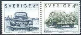 Zweden 1992 Zweedse Auto's Paar I PF-MNH - Neufs