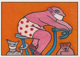 Cpm 1741/623 ERGON - Homme à Bicyclette  - Vélo - Cyclisme - Bicycle - Cycle - Illustrateurs - Illustrateur - Ergon