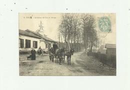 40 - UZA - ( Marquée Uzaa ) Avenue De Lit Et Mixte ( Marqué Mitze) Animé Attelage Bon état - Altri Comuni