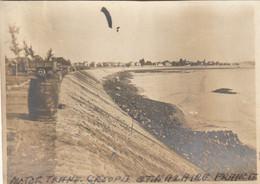 Photo Janvier 1919 SAINT-NAZAIRE - Boulevard Motor Group, Digue, Camp Américain (A225, Ww1, Wk 1) - Saint Nazaire