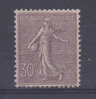 N°133* - 1906-38 Säerin, Untergrund Glatt