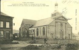 08 Ardennes  VIEL ST REMY Le Portail De L église Lire Le Récit Trés Intéressant - Autres Communes