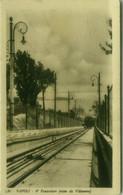 NAPOLI - 4 FUNICOLARE - VISTA DA VILLANOVA - FOTO SAGRI - SPEDITA 1931 (6929) - Napoli (Napels)