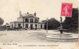 LE NEUBOURG - La Gare, Vue Extérieure - Le Neubourg