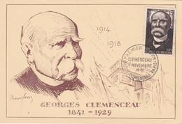 GEORGES CLEMENCEAU 11 Novembre 1951 - 1950-1959