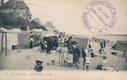 """Cachet """" AÉRONAUTIQUE MILITAIRE ESCADRILLE .15 """" Sur CP En Franchise  Obl """" DAMVILLE EURE 21/1/17 """" - 1. Weltkrieg 1914-1918"""