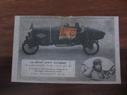 Carte  Postale Automobile Le Grand Sport Salmson - Altri