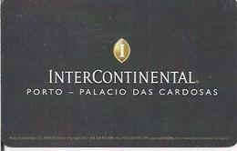 PORTOGALLO KEY HOTEL   InterContinental Porto - Palacio Das Cardosas - Chiavi Elettroniche Di Alberghi