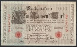 Allemagne Billet De 1000 Mark 21 Avril 1910 Neuf - 1000 Mark