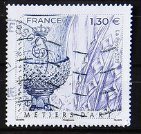 FRANCE 2019 - N° 5306 - Les Métiers D'Art - Cristallier - Cachet à Date - Used Stamps