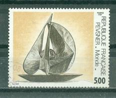 """FRANCE - N° 2494 Oblitéré - Série Artistique. Oeuvre D'Antoine Pevsner, """"Monde"""". - Gebruikt"""