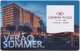 PORTOGALLO KEY HOTEL   Crowne Plaza Vilamoura - Chiavi Elettroniche Di Alberghi