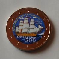 ESTONIE  2020 - ANTARTIC - 2 EUROS COMMEMORATIVE COULEUR - Estland