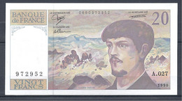 20 Francs Debussy - 1990 - Fayette 66bis/1 - Etat Neuf - 20 F 1980-1997 ''Debussy''