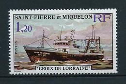 SAINT PIERRE ET MIQUELON  1976 . N°  453 . Neuf  ** (MNH) . - Unused Stamps