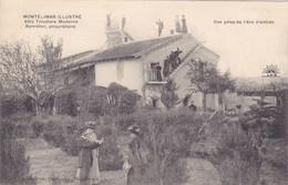 MONTELIMAR  ILLUSTRE -  Villa Tricolore Moderne Barralier, Propriétaire - Vue Prise De L' Arc D' Entrée - Montelimar