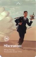 STATI UNITI KEY HOTEL   Sheraton - Ming Yeung, Associate Since 1992 - Cartes D'hotel
