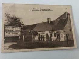 Carte Postale Ancienne (1937) VIRELLES Restaurant Du Lac  A La Renomée Du Poissom à L'escavèche - Chimay