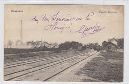 Kovin (Kevevára) , Stanica , Palyaudvar  , Bahnhof - Serbia