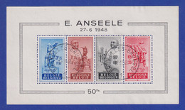 Belgien 1948 Blockausgabe Eduard Anseele Mi.-Nr. Block 20 Gestempelt - Unclassified