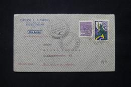 BRÉSIL - Enveloppe De Rio De Janeiro Pour L'Allemagne En 1936 Par Avion ( Cie Condor Zeppelin Lufthansa ) - L 78796 - Lettres & Documents