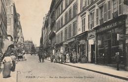 CPA-75-IX-PARIS-Rue Des Martyrs Vers L'avenue Trudaine-Pharmacie-Animée - District 09