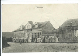 CPA 76 - FESQUES (CAFE DURAND BERTIN) - Altri Comuni