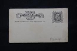 ETATS UNIS - Entier Postal Avec Repiquage Au Verso De New York En 188. Non Circulé - L 78809 - ...-1900