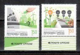 Bosnien-Herzegowina (serbisch) / Bosnia-Herzegowina (serbian Post) / Bosnie-Herzégovine 2016 Satz/set EUROPA ** - 2016