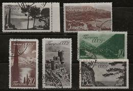 Russie 1938 N° Y&T : 658 à 663  Obl. - Gebruikt