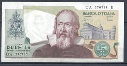 Italie - Billet De 2.000 Lire Ottobre 1983 Galileo Galilei - 2000 Lire