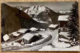 VERBIER-VILLAGE - VAL DE BAGNES EN HIVERS 1964 - VS Valais