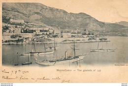 MONACO MONTE CARLO Vue Générale N° 537 ( Le Port ) - Harbor